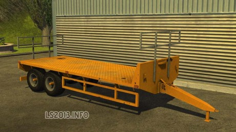 Homemade-Flatbed-Trailer