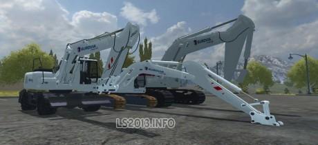 Liebherr Eurovia Edition Excavators Pack