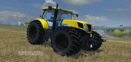 New-Holland-T-7030-Yellow
