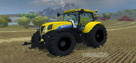 New-Holland-T7.-210-Yellow