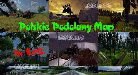 Polskie-Podolany-Map