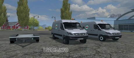 Mercedes Sprinter Pack v 2.5
