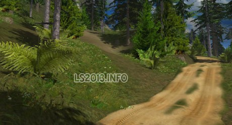 The sandy dirt Roads v 1.0