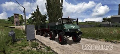 Unimog U 84 406 Series v 2.1 MR Forest Edition