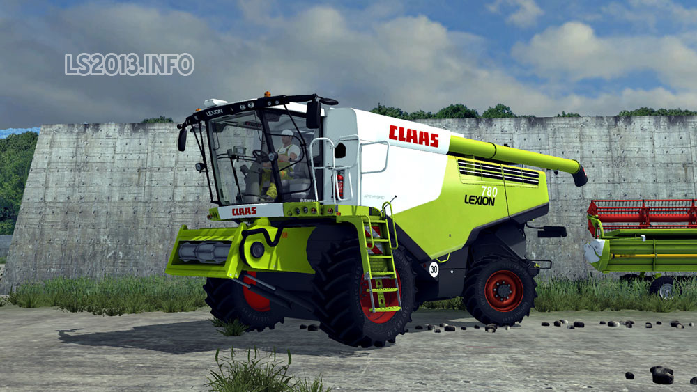 Claas Lexion 780 Ls 2013 | Autos Post