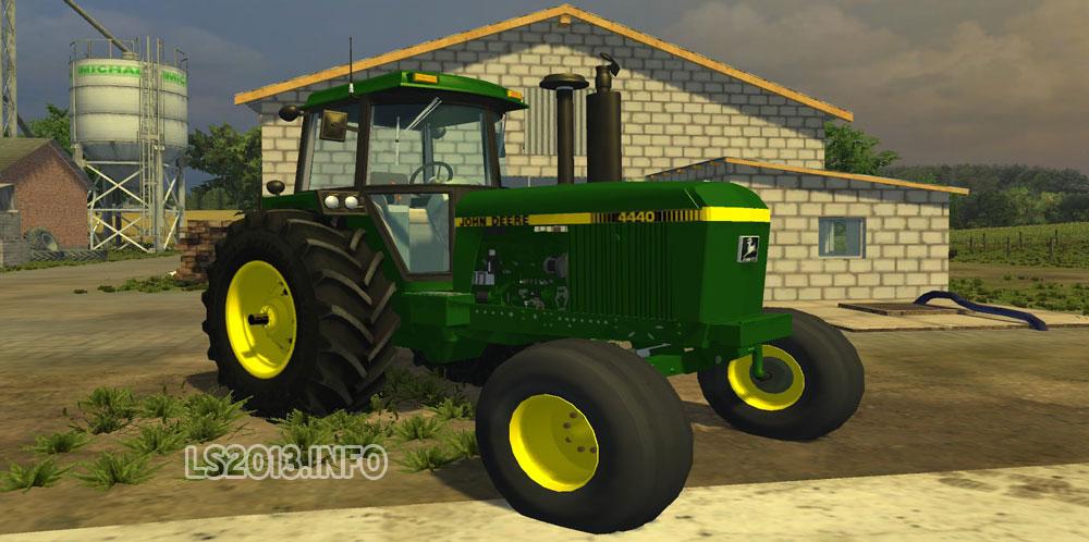 John Deere 4440   LS 2013 mods