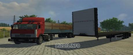 Kamaz-54115-Truck+Odaz-9370+Kogel-Trailers