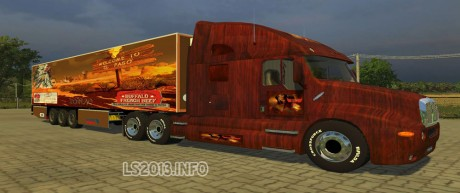 Kenworth-Bufallo-French-Beef-Edition+Trailer