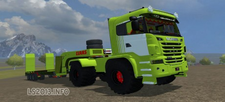 Scania-Claas-Edition+Trailer