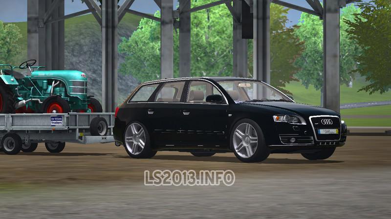 Audi A4 Quattro Avant V 10 Ls 2013 Mods