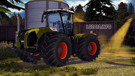 Claas Xerion 5000 v 5.0