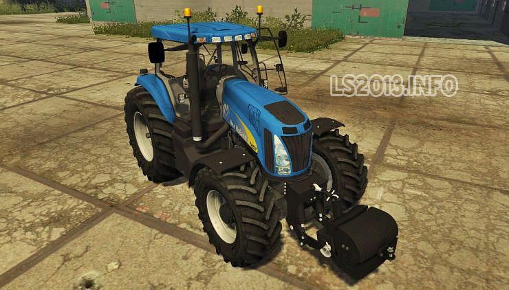 New Holland T8020 v 2 0 MR   LS 2013 mods