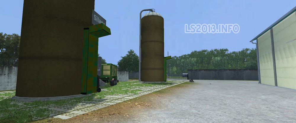 Placeable UPK Silage Silo v 1 0 | LS 2013 mods