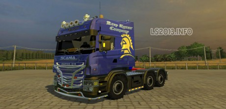 Scania-R-620-Shogun-Edition