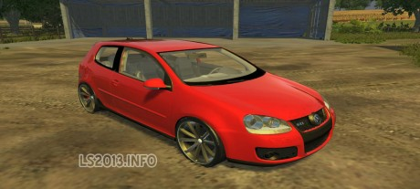 Volgswagen-Golf-GTI-Red