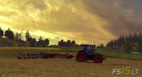 FS15 A day on the Farm Video