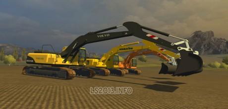 Excavator-Pack
