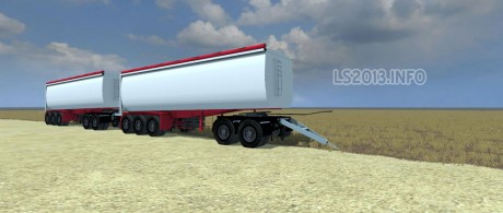 Road West TR1350BT Trailer v 1.0