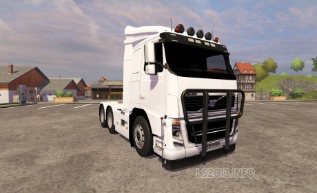 Volvo FH16 6×4